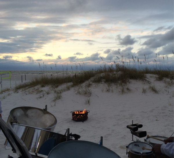 Caladesi Steel Band at the Sandpearl on Clearwater Beach - Steel Pan on the beach