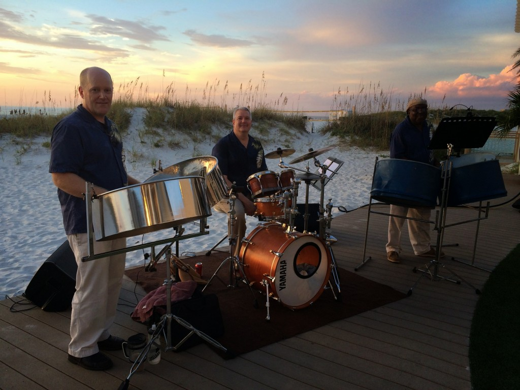 Caladesi Steel Band Trio at Clearwater Beach