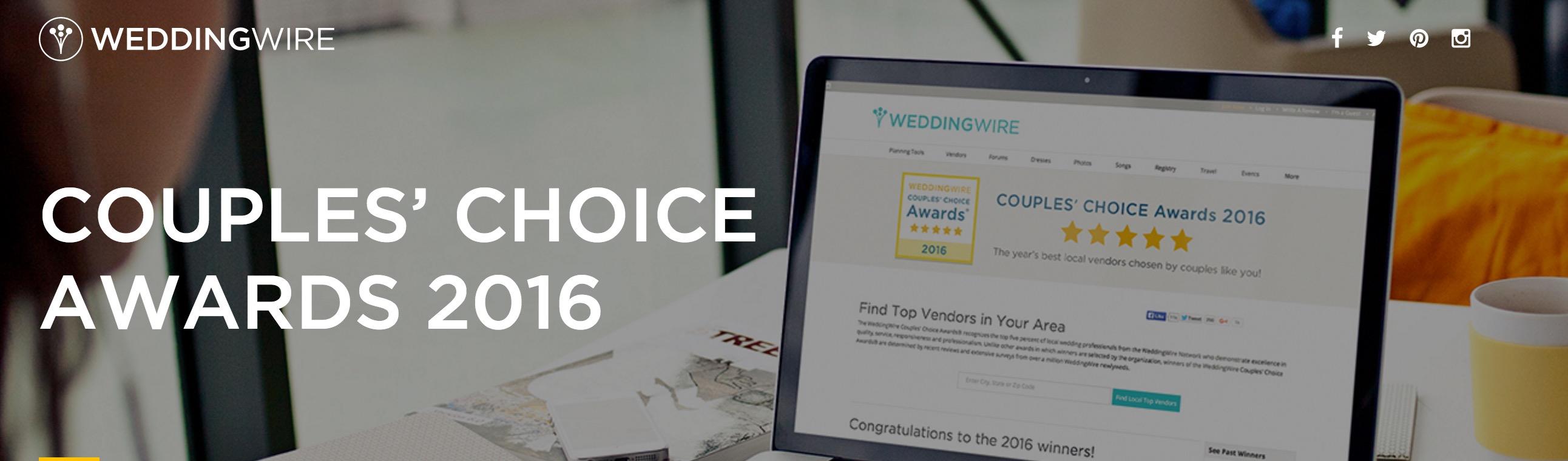 WeddingWire Couple's Choice 2016 - Caladesi Steel Band