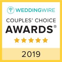2019 WeddingWire Couple's Choice Award
