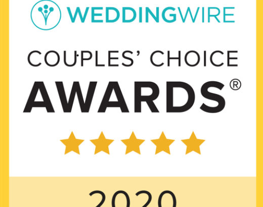 WeddingWire Couple's Choice Award Winner